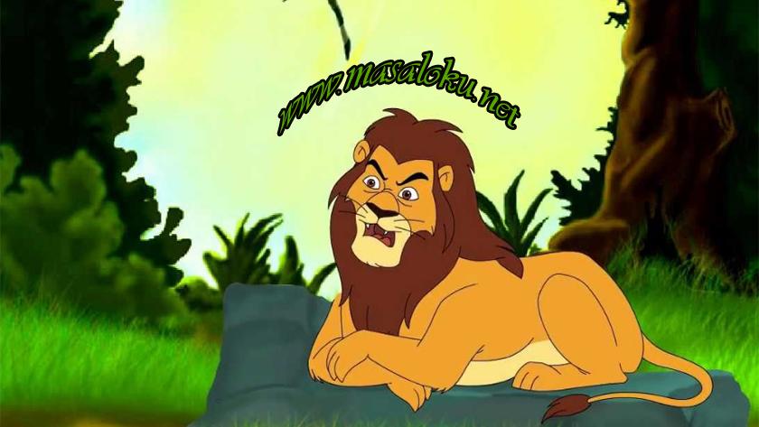 aslan-ile-avci-masal